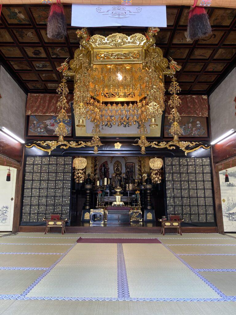 お寺でヨガin塩尻市